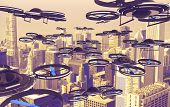 foto of drone  - Drones Invasion - JPG