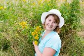 stock photo of tansy  - Middle - JPG