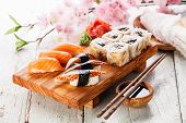 image of sushi  - Sushi Set - JPG