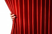 pic of opulence  - Red Curtain close - JPG