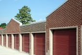 pic of self-storage  - Newly constructed storage facility in a suburban location. ** Note: Visible grain at 100%, best at smaller sizes - JPG