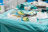 image of open heart surgery  - the Surgical Instruments For Open Heart Surgery - JPG