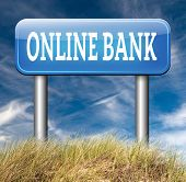 picture of internet-banking  - online internet banking account money bank deposit 