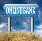 picture of internet-banking  - online internet banking account money bank deposit  - JPG