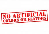 stock photo of unnatural  - NO ARTIFICIAL COLORS OR FLAVORS  - JPG