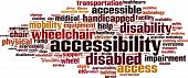 picture of braille  - Accessibility Word Cloud Concept - JPG