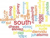 picture of south-pole  - Background concept wordcloud multilanguage international many language illustration of south - JPG