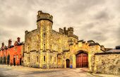 picture of gate  - Gate of Windsor Castle  - JPG