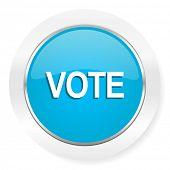 stock photo of voting  - vote icon  - JPG