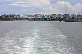 picture of outer  - Hatteras town in the Outer Banks - JPG