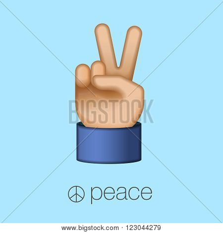 Peace Sign Hand Images Stock Photos amp Vectors  Shutterstock