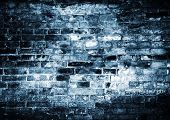 cold blue grunge background