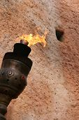 Medieval Torch poster