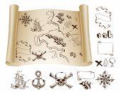 Treasure Map Kit poster