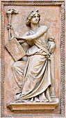Classical Statue Architectural Detail poster