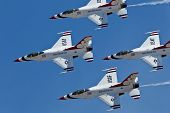 uns air Force Thunderbirds Demo Geschwader