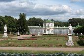 Kuskovo Estate.  Great Stone Conservatory poster