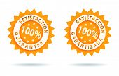 foto of spanish money  - satisfaction guarantee 100 - JPG