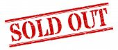 Sold Out Stamp. Sold Out Square Grunge Sign. Sold Out poster