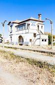 stock photo of dua  - railway station of Duas Igrejas - JPG