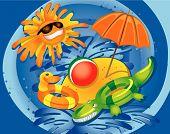 pic of summer fun  - Summer Fun Concept  - JPG