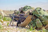 Israeli Soldiers Training, IDF -  Israeli army military combat training poster