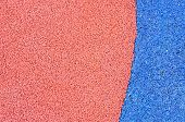 picture of olympic stadium construction  - Texture of color rubber floor on playground - JPG