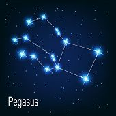 image of pegasus  - The constellation  - JPG