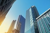 image of luzon  - Office buildings in Makati the business disctrict of Metro Manila - JPG