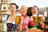 stock photo of lederhosen  - In Pub  - JPG