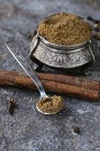 pic of garam masala  - Indian mix of ground spices garam masala