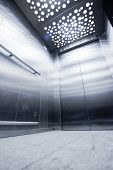 pic of elevator  - view from inside the elevator - JPG