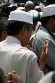 picture of piety  - Muslim praying - JPG