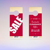 Set of tags, sale and special offer