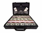 case full of dollars