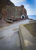 picture of sark  - Coastal scene on Sark looking out over the English Channel - JPG