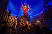 Kolkata , India - October 12, 2013 : Durga Puja Festival