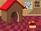 picture of home is where your heart is  - Cute little dog house - JPG