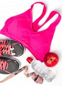 picture of pink shoes  - Woman - JPG