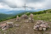 stock photo of south tyrol  - Stoanerne Mandln  - JPG