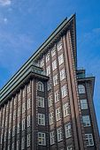 pic of expressionism  - A characteristic building seen in Hamburg - JPG