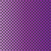 pic of metal grate  - Concept conceptual violet abstract metal stainless steel aluminum perforated pattern texture mesh background as metaphor to industrial - JPG