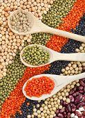 stock photo of legume  - lentils - JPG