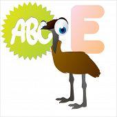 image of animal eyes  - vector isolated cute happy big eyes abc animals - JPG