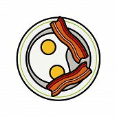 pic of crisps  - Eggs and bacon - JPG
