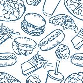 picture of hamburger  - Fast food - JPG