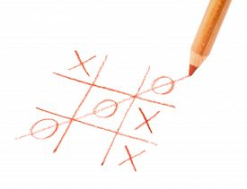 picture of tic  - Tic tac toe game - JPG