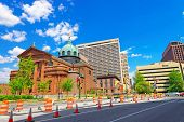 Постер, плакат: Cathedral Basilica Of Saints Peter And Paul In Philadelphia Pa