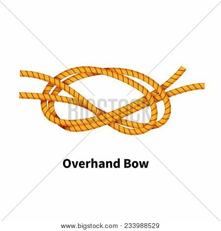 Overhand Bow Sea Knot Bright