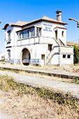 foto of dua  - railway station of Duas Igrejas - JPG
